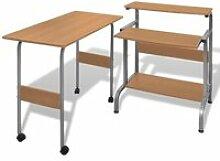 Bureau table meuble travail informatique réglable