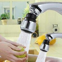 Buse de robinet pivotante à 360 degrés, appareil