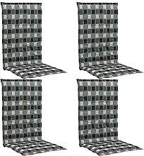 Butifooy Coussins de Chaise de Jardin 4 pcs