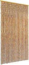 Butifooy Rideau de Porte Contre Insectes Bambou