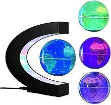 BVYHGCVBW Globe, Globe Flottant en Forme de C avec