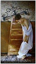 Bxygml Toile Art Peinture à l'huile Sergey