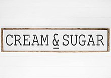 by Unbranded Pancarte « Cream and Sugar » pour