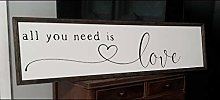by Unbranded Panneau « All you need is love love