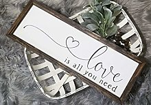 by Unbranded Panneau « Love is all you need »,
