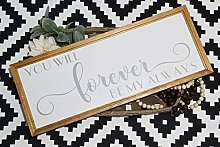 by Unbranded Panneau « You will forever be my