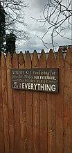 by Unbranded Plaque en bois avec inscription «