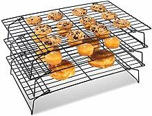 BYbrutek Grilles de Refroidissement pour Gâteaux,