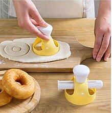 BYFRI Donut Moule avec Clip DIY Gâteau Biscuit