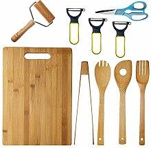 Byoeko Lot de 11 outils de cuisine (4 palettes en