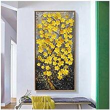 Bzdmly Peinture à l'huile Moderne imprimée