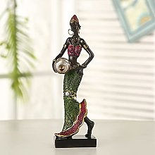 BZEAA Ornements Figurine Africaine Figure Figure