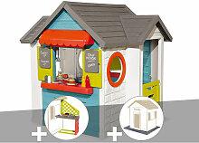 Cabane enfant Chef House + Cuisine d'été + 2