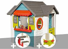 Cabane enfant Chef House + Table pique nique +