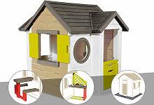 Cabane enfant My New House + Table pique nique +