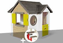Cabane enfant My New House + Table pique nique -