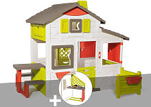 Cabane enfant Neo Friends House + Cuisine