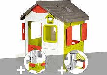 Cabane enfant Neo Jura Lodge + Espace jardin +