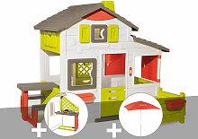 Cabane enfant Smoby Neo Friends House + Cuisine