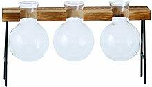 Cabilock 1 Set Test Tube Vase en Cristal à Essai