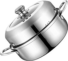 Cabilock Acier Inoxydable Vapeur Pot avec Le Bain