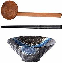 Cabilock Bol en céramique Delikat - Style japonais