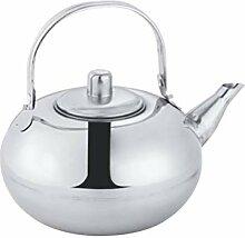 Cabilock Bouilloire à thé en acier inoxydable