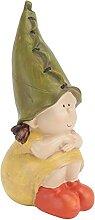 Cabilock GNOME Poupée Elf Fille Figurine Résine