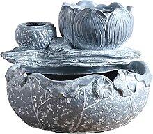 Cabilock Lotus Feuille en Forme de Fleur Pot