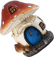 Cabilock Miniature Champignon Maison en Plein Air