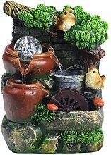 Cabilock Tabletop Fontaine de jardin chinois en