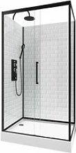 Cabine de douche ambiance métro