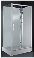 Cabine de douche CARAT 120x80 cm Thermostatique -