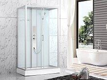 Cabine de douche hydromassante ALDABRA - L120 x