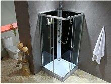 Cabine de douche hydromassante CASSIA  - 3 jets de