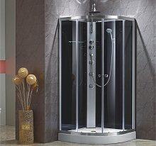 Cabine de douche hydromassante d'angle TALULA