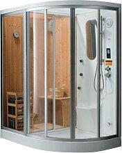 Cabine de douche intégrale d'angle  HAUMEA