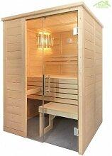 Cabine de Sauna ALASKA MINI de 160x110 cm -