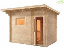 Cabine de Sauna d'extérieur LAVA de 341x230