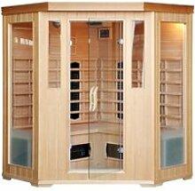 Cabine sauna luxe infrarouge 3/4 places