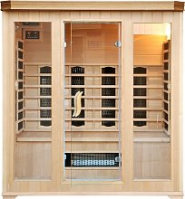 Cabine Sauna Luxe Infrarouge 4/5 Places