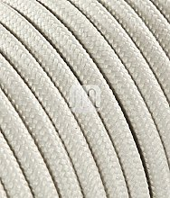Câble électrique rond recouvert de tissu coloré