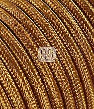 Câble électrique rond Rond recouvert de tissu
