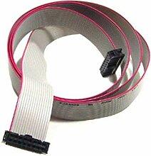 Câble plat 150 cm avec connecteur 16 broches pour