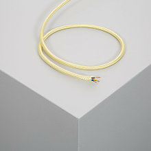 Câble Textile Doré 100m - 100m