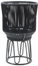 Cache-pot Circo 2 / Ø 40 x H 68 cm - ames noir en