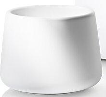 Cache-pot TUBBY 2 de Magis, Blanc