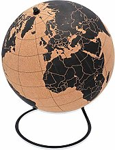 Cacoffay Grand globe en liège éducatif pour