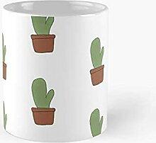 Cactus dans une casserole Tasse classique Meilleur