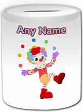 Cadeau personnalisé–Clown Jonglage avec